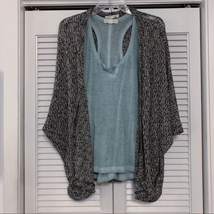 Painted Thread Cardigan - Size Small